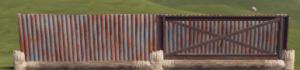 Правильная и неправильная металлическая низкая стенка в Rust