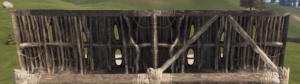 Правильная и неправильная соломенная полустенка в Rust
