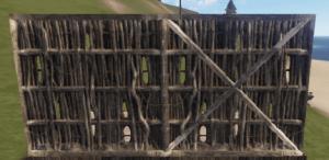 Правильная и неправильная соломенная стена в Rust