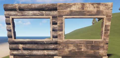Правильное и неправильное деревянное окно в Rust