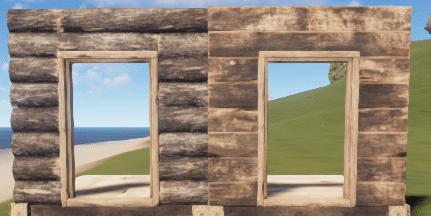 Правильный и неправильный деревянный дверной проём в Rust