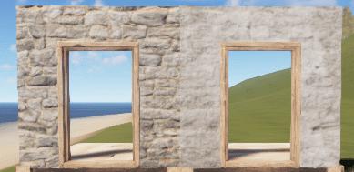 Правильный и неправильный каменный дверной проём в Rust