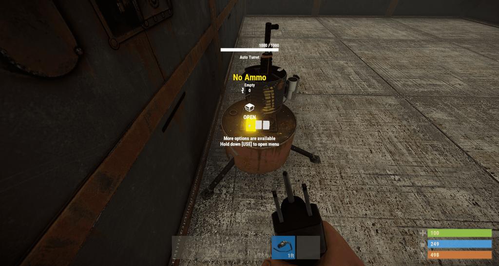 Разъём No Ammo в Rust