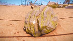 Серный камень в Rust