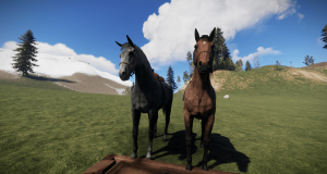 Серый в яблоках, чалый - лошади в Rust