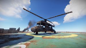 Транспортный вертолёт в Rust