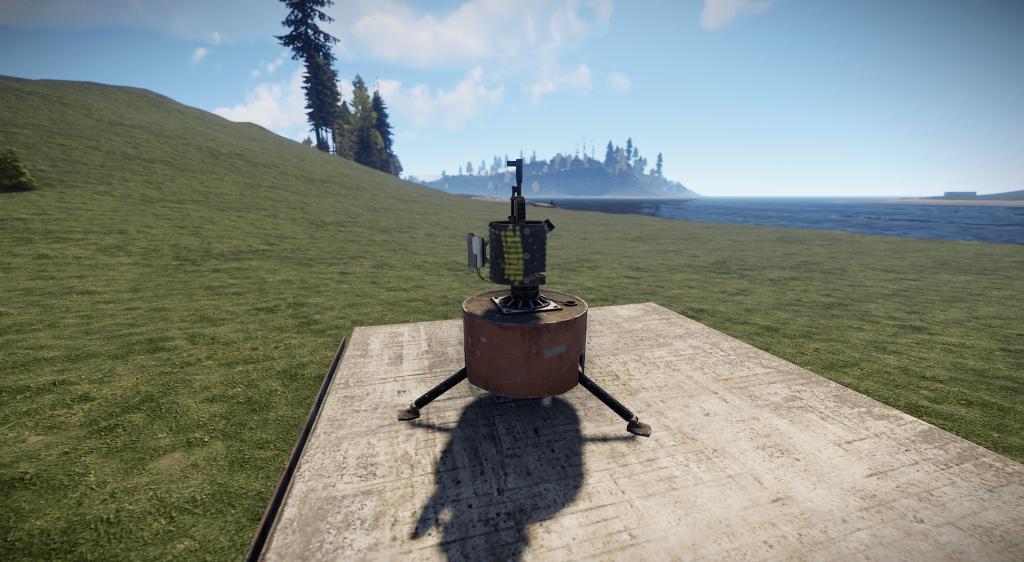 Турель в игре Rust
