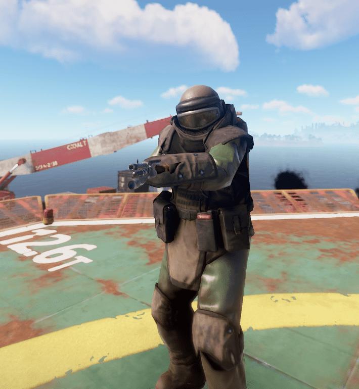 Тяжёлый военный учёный в Rust