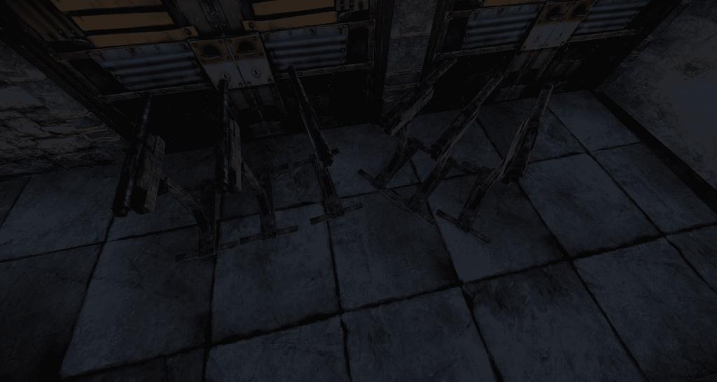 Установленные ловушки-дробовики в Rust