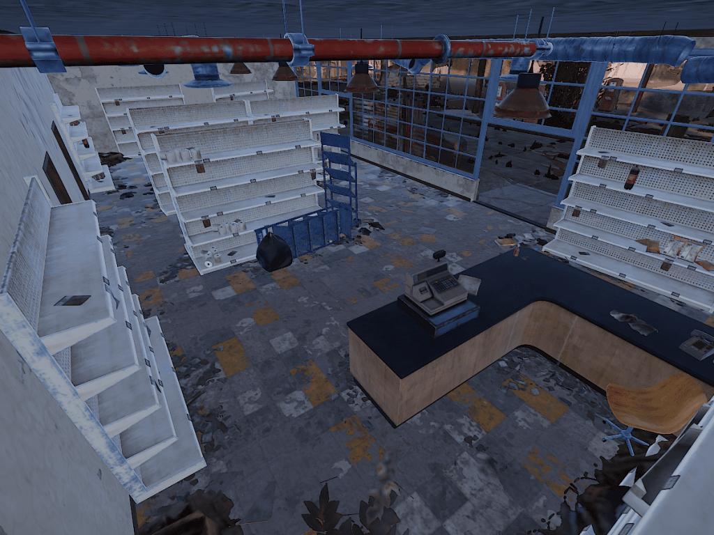 Холл заправки в Rust