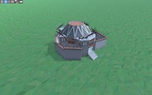 Дом для 1-2 игроков в Rust