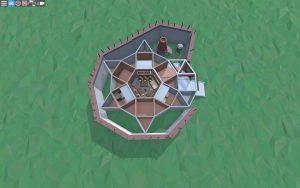 Первый этаж дома для 1-2 игроков в Rust