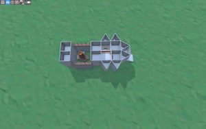 Второй этаж дома для 1-2 игроков в Rust