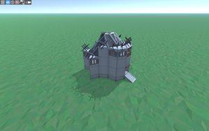 Внешний вид дома для 1-2 игроков в Rust