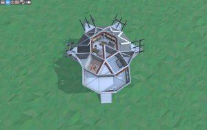 Третий этаж дома для 1-2 игроков в Rust