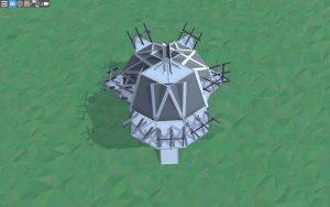 Крыша дома для 1-2 игроков в Rust