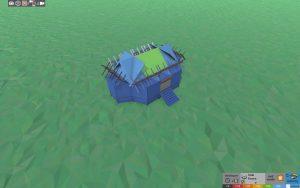 Стабильность небольшого дома для 1-2 игроков в Rust
