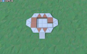 Фундамент небольшого дома для 1-2 игроков в Rust