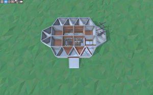 Первый этаж небольшого дома для 1-2 игроков в Rust