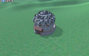 Внешний вид дома для 2-4 игроков в Rust