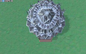 Крыша дома для 2-4 игроков в Rust