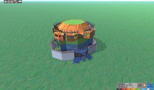 Стабильность шипастого дома для 2-3 игроков в Rust