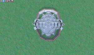 Первый этаж шипастого дома для 2-3 игроков в Rust