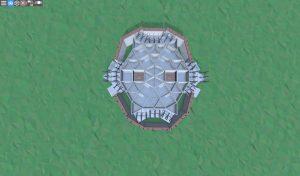 Второй этаж шипастого дома для 2-3 игроков в Rust