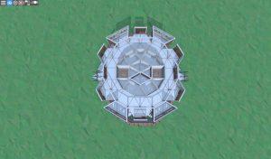 Четвёртый этаж шипастого дома для 2-3 игроков в Rust