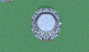 Крыша шипастого дома для 2-3 игроков в Rust
