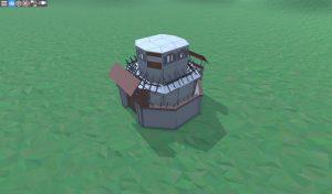 Внешний вид дома для игрока-одиночки в Rust