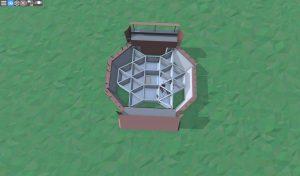 Первый этаж дома для игрока-одиночки в Rust