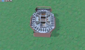 Третий этаж дома для игрока-одиночки в Rust