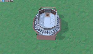 Четвёртый этаж дома для игрока-одиночки в Rust