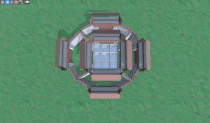 Первый этаж снайперской башни в Rust