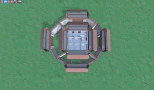 Второй этаж снайперской башни в Rust
