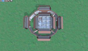Третий этаж снайперской башни в Rust