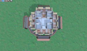 Шестой этаж снайперской башни в Rust