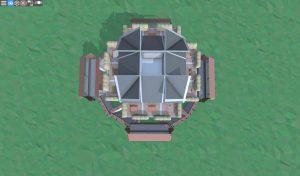 Седьмой этаж снайперской башни в Rust