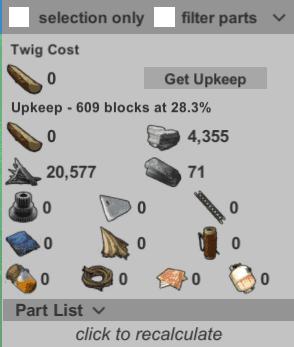 Затраты на один день содержания базы в Fortify