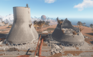 "Реакторы на РТ ""Power plant"" в Rust"