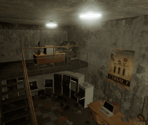 """Стол для изучений в комнате-головоломке на РТ """"Power plant"""" в Rust"""