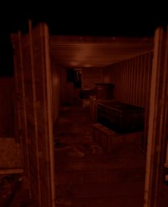 Контейнер с элитными ящиками в центре военных туннелей в Rust