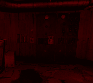 """Держатель предохранителя и таймер в комнате с арсеналом на РТ """"Военные туннели"""" в Rust"""
