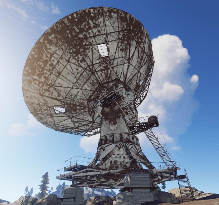 Исправная антенна в игре Rust