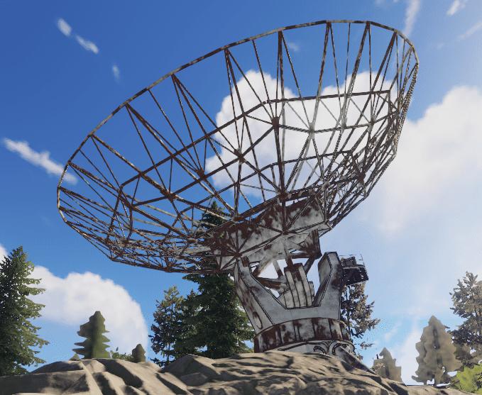 Недостроенная антенна в Rust