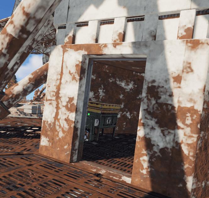 Переработчик в недостроенной антенне в Rust