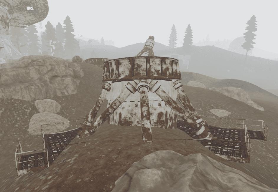 Поломанная антенна в Rust