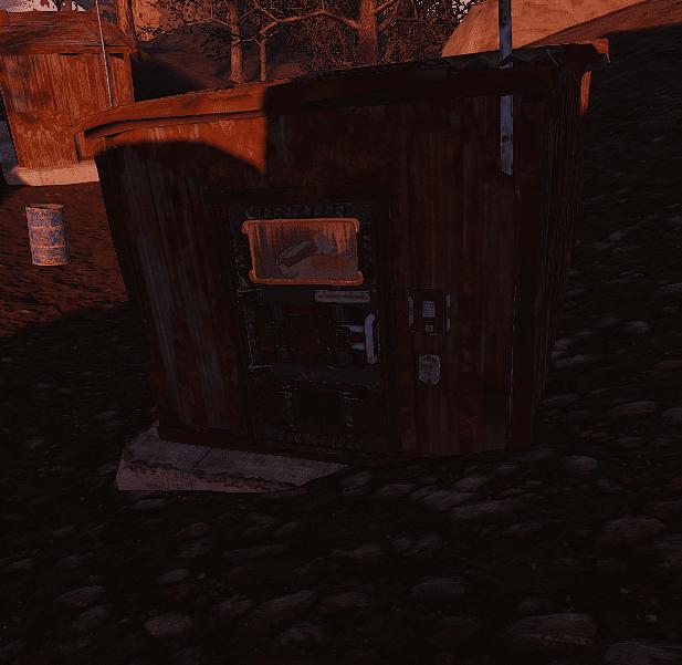 "Закрытый сарай на окраине РТ ""Satellite"" в Rust"