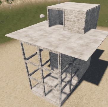 Большая версия ангара для коптера в Rust